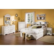 South Shore Angel Crib & Toddler's Bed with Mattress