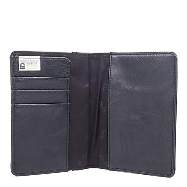 Valentino Passport Covers in PU, Black