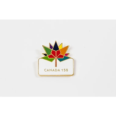 Canada 150 Celebration Lapel Pin, 6/Pack