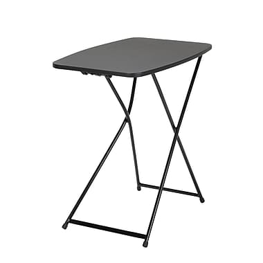 COSCO Indoor Outdoor Adjustable Height Personal Folding Table, 2/Pack