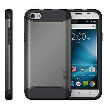 TUDIA – Étui protecteur ajusté double couche MERGE pour téléphone intelligent X4 de NUU Mobile
