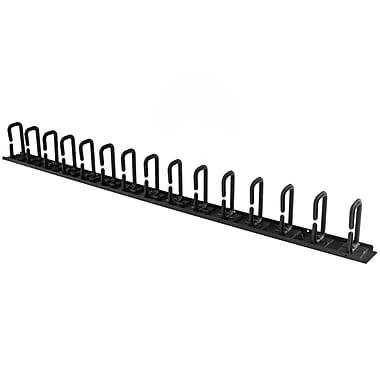 StarTech.com – Panneau de gestion de câbles 0U pour rack - guide-câbles avec anneaux