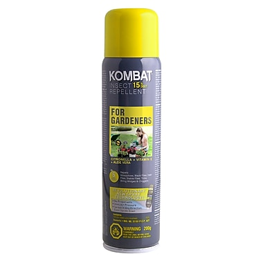Kombat for Gardeners 15% DEET Repellent, 200g BOV