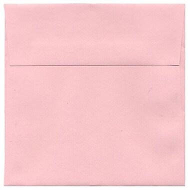 JAM Paper – Enveloppes carrées, 6,5 x 6,5 po, rose pâle