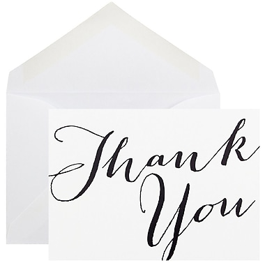 JAM Paper® Thank You Cards Set, 10/Pack