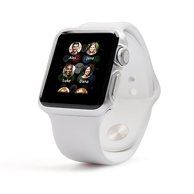 JCPal - Coquille protectrice Apple Watch (avec solution de nettoyage)
