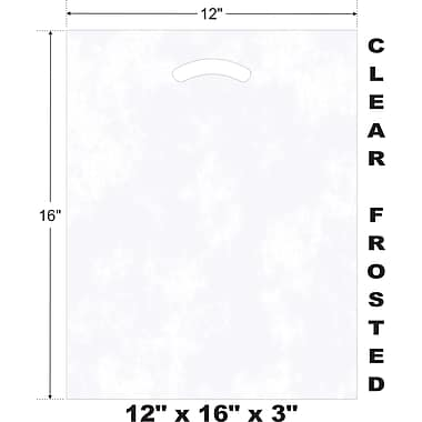 Marlo Packaging 12 x 16 x 3 D/C Bag, Biodegradable, 500/Pack