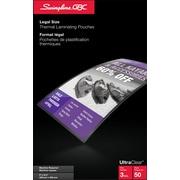 Swingline™ – Pochettes de plastification GBC® UltraClear™ de 3 mm, légal, transparent, paq./50