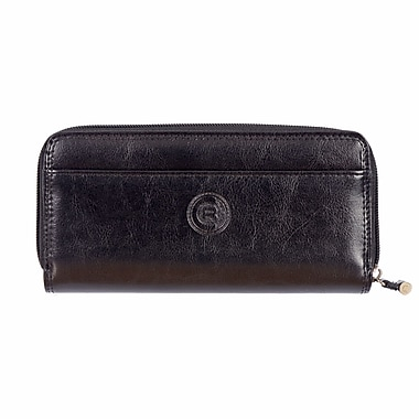 Club Rochelier Traditional Collection, Zip Around Clutch Wallet with Tab