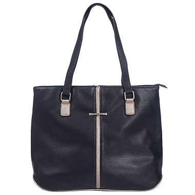 Club Rochelier Minimal Collection, Large Tote with Metallic Accents