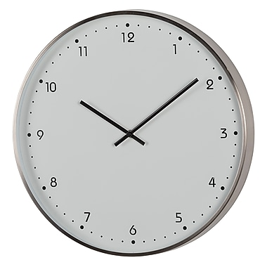 Ergo Sweep Silent Metal Clock, 16