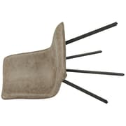 !nspire Faux Suede Side Chair, 2/Pack