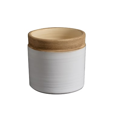 Gunnar Round Ceramic Pot, Small, 5.9