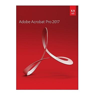 Logiciel Adobe Acrobat Pro 2017 pour Mac