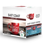 East Coast Coffee – Café décaféiné Calm Seas, bio, foncé, recyclable