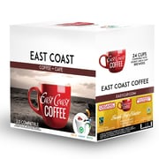 East Coast Coffee – Mélange bio Fundy Fog Blaster, torréfaction moyenne, recyclable