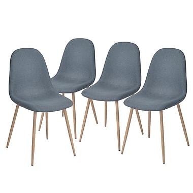 Chaise pour table à manger Charlton, ensemble de 4