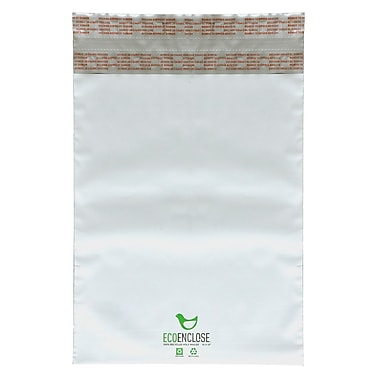EcoEnclose Recycled Poly Mailer, 100% Recycled Content