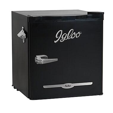Igloo – Refrigérateur bar rétro de 1,6 pi cu avec ouvre-bouteille