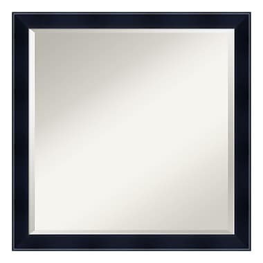 Amanti Art ? Miroir mural carré, noir Madison