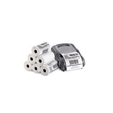 ProScan Media Products ? Étiquettes blanches à impression thermique directe, perforées, centre 1 po ss marquage, ss ruban