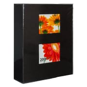 "Kiera Grace Photo Album, 4"" x 6"" Photos, Black, 6/Pack"