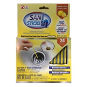 As Seen On TV Sani Sticks, Drain Sticks