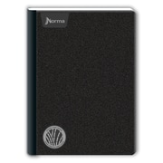 Norma Composition Book, Black, 200 Pages, 12/Pack (552016)