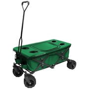Creative Outdoor Folding Wagon All-Terrain Tabletop with Cooler