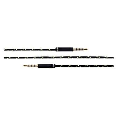 Powerology 3 ft. 1m Braided 3.5mm AUX Cable