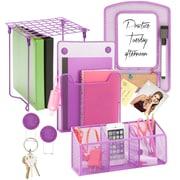 Honey-Can-Do Purple Back To School Kit, Purple