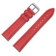 Dakota 16mm Red Colored geniune leather Strap (4610)