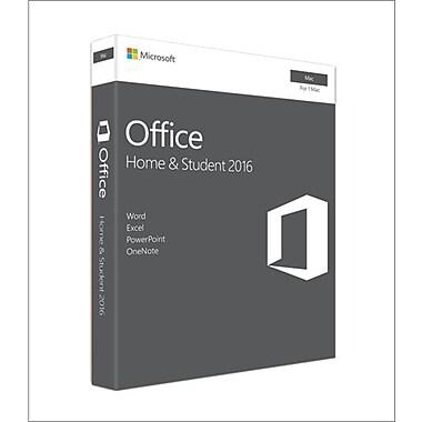 Microsoft – Office Famille et Étudiant 2016 pour Mac, 1 Mac