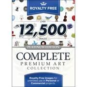 Royalty Free – Collection d'art de luxe Complete Premium Art Collection, édition Platinum
