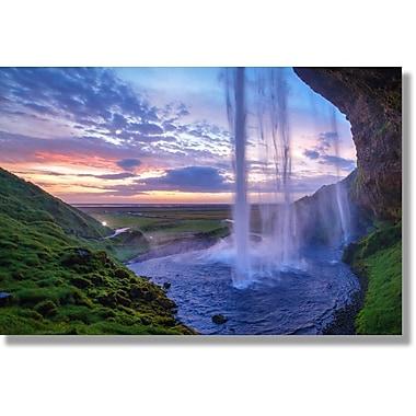 Verde Fastframe Photo Art, Waterfall1