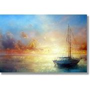 Verde Fastframe Photo Art, Ocean Sunrise