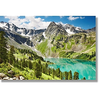 Verde Fastframe Photo Art, Lush Mountains