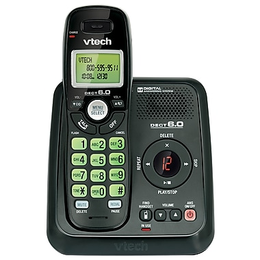 VTech CS6124 DECT 6.0 Cordless Phone with Answering System