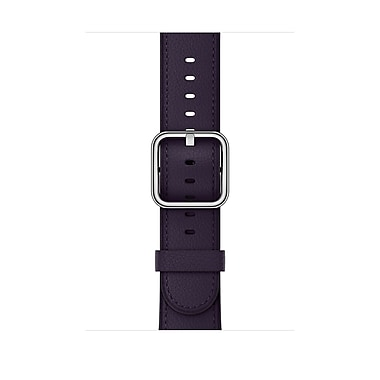 Apple Watch Dark Aubergine Classic Buckle