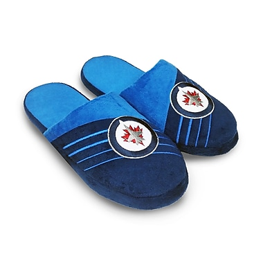 Forever Collectibles Winnipeg Jets Big Logo Slippers