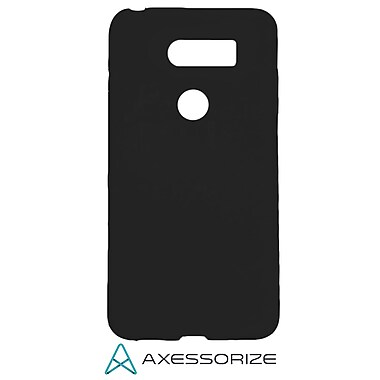 Axessorize COMBO Gel Case and Tempered Glass Screen Protector LG V30