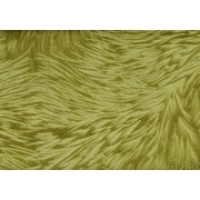 """Monarch Pillow, 18""""x 18"""", Lime Green Feathered Velvet"""