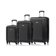 Champs Broadway Collection 3-Piece Spinner Luggage Set