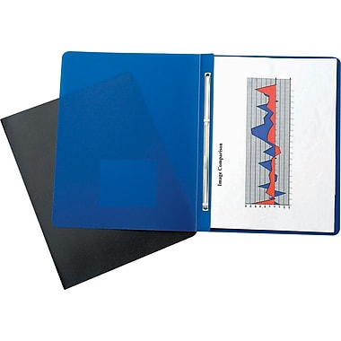 Oxford® Presslock Poly Report Cover with Metal Fasteners