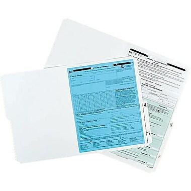 Oxford® Slimtrim™ File Folders with # 1 Fastener Position, 2 Prong, Ivory