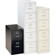 "HON® 310 Series 26 1/2"" Deep Commercial Vertical File Cabinets, Letter Size"