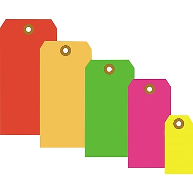 Staples® Fluorescent Shipping Tags