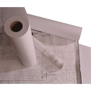 Staples 20 lb. Roll of Wide Format Engineering Copier Bond Paper, White, 2/Pack