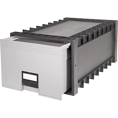 Storex Stacking Archive/File Drawers