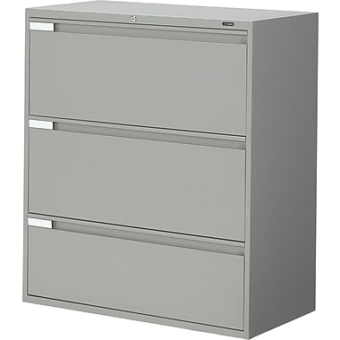 Global® 9100 Plus Series Lateral File Cabinets, 3-Drawer